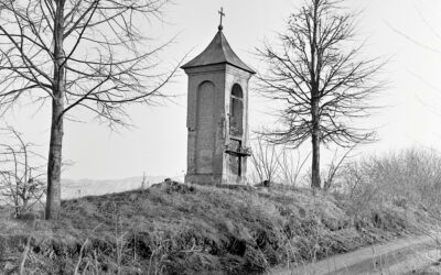 Chapel in the second half of the 20th century, general view