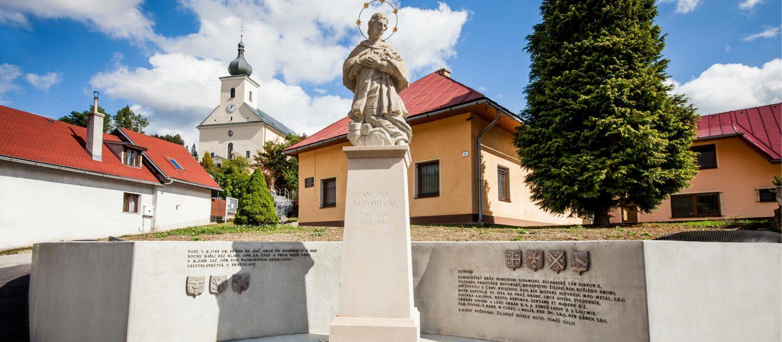 Statue of St. John of Nepomuk in Divina_Servare et Manere_Marek Sobola